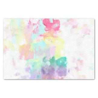 Modelo brillante de la acuarela del trullo rosado papel de seda pequeño