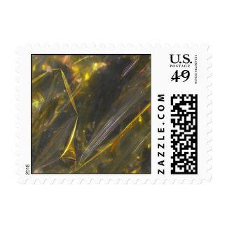 Modelo brillante de la textura de los dobleces del timbre postal