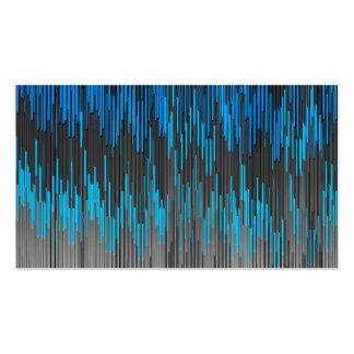 Modelo brillante de moda de Chevron del zigzag del Tarjetas De Visita