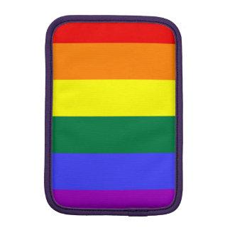 Modelo brillante del arco iris fundas de iPad mini
