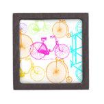 Modelo brillante del neón del color de la biciclet caja de joyas de calidad