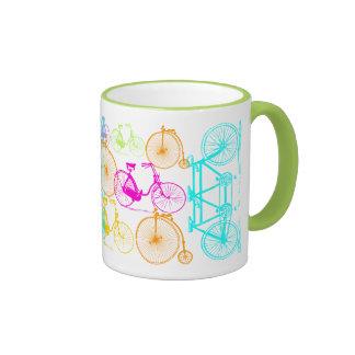 Modelo brillante del neón del color de la taza a dos colores