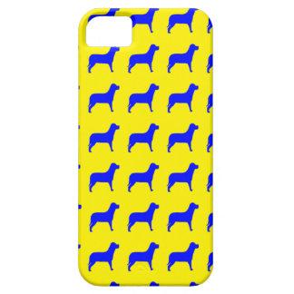Modelo brillante del perro iPhone 5 Case-Mate carcasa