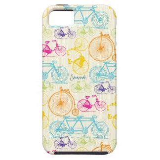 Modelo brillante Iphone 5 de la bici de los colore iPhone 5 Fundas