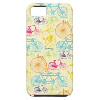 Modelo brillante Iphone 5 de la bici de los colore iPhone 5 Case-Mate Fundas