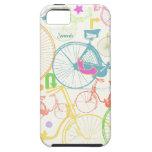 Modelo brillante Iphone 5 de la bici de los colore iPhone 5 Cobertura