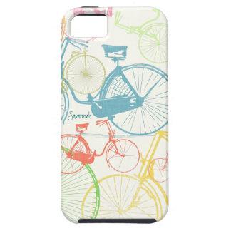 Modelo brillante Iphone 5 de la bici de los colore iPhone 5 Case-Mate Protectores