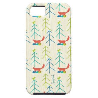 Modelo brillante Iphone 5 del Fox de los colores Funda Para iPhone 5 Tough