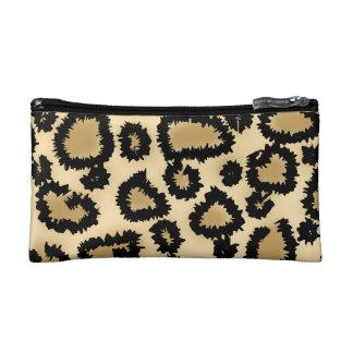 Modelo Brown y negro del estampado leopardo