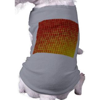 Modelo caliente de la pendiente de los pedazos playera sin mangas para perro