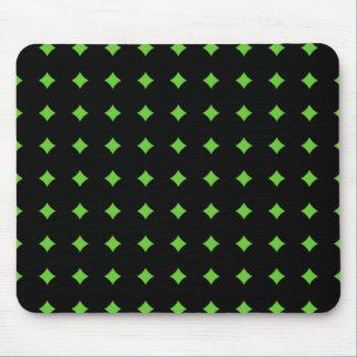 Modelo cambiante del diamante del color mouse pad