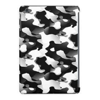 Modelo Camo blanco y negro de la vaca Funda De iPad Mini