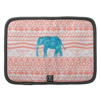 Modelo caprichoso del Azteca del rosa del elefante Planificador