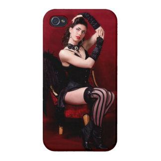 Modelo - caso de Saavy del iPhone 4 iPhone 4/4S Funda