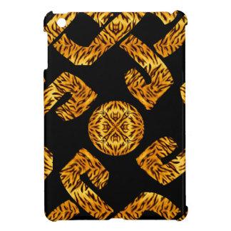 Modelo céltico del tigre de la armadura iPad mini cobertura