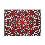 Modelo céltico en el rojo (primer) iPad mini coberturas