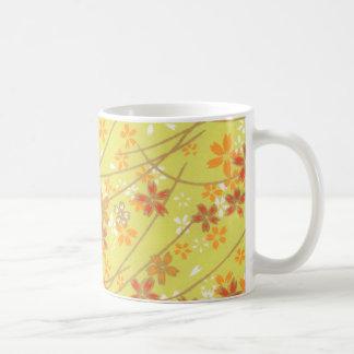 Modelo chartreuse de Origami Taza De Café