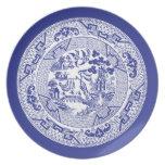 Modelo chino del sauce plato de comida