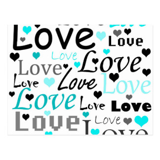Modelo ciánico del amor postales