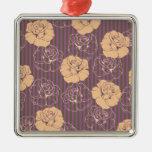 Modelo color de rosa floral de la moda ornamento para reyes magos