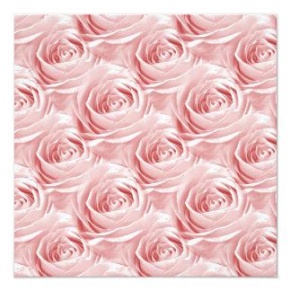 Modelo color de rosa rosado del papel pintado invitacion personal