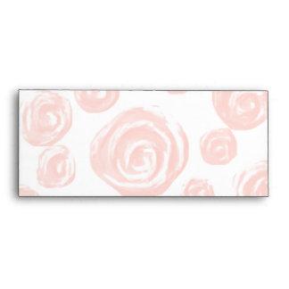Modelo color de rosa rosado suave bonito en blanco