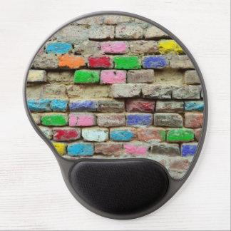 modelo coloreado de la textura del grunge de la alfombrilla con gel
