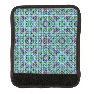 Modelo coloreado del triángulo cobertura para asa de maleta