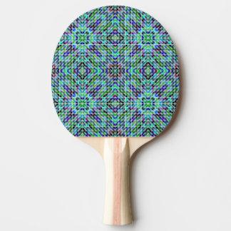 Modelo coloreado del triángulo pala de ping pong