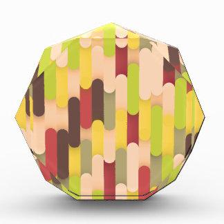 Modelo coloreado enrrollado del fondo de las tejas