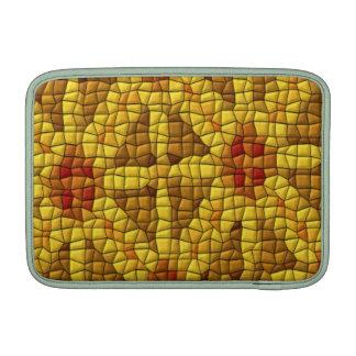 Modelo coloreado mosaico brillante fundas MacBook
