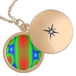 Modelo colorido abstracto del círculo medallones