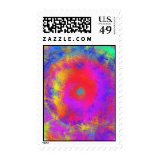 Modelo colorido abstracto del desorden sello