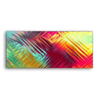 Modelo colorido abstracto psicodélico