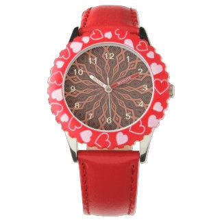 Modelo colorido abstracto relojes