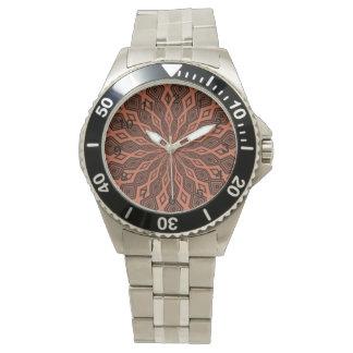 Modelo colorido abstracto relojes de pulsera