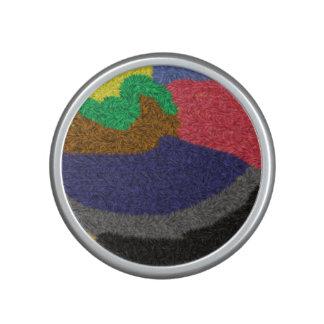 Modelo colorido al azar altavoz bluetooth