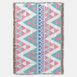 Modelo colorido azteca tribal manta