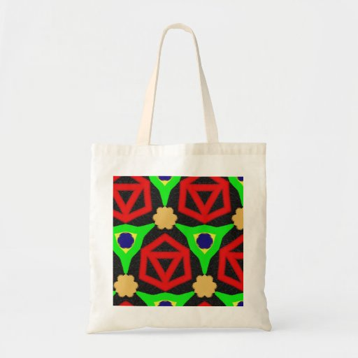 Modelo colorido bolsa