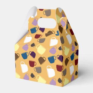 Modelo colorido brillante lindo de las tazas de té caja para regalo de boda