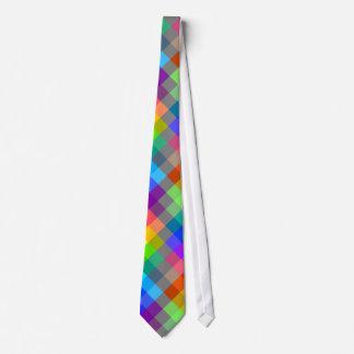 Modelo colorido. Colores del arco iris Corbatas Personalizadas
