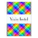 Modelo colorido. Colores del arco iris Comunicado Personal