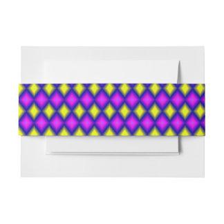 Modelo colorido cuadrado abstracto