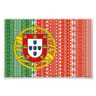 Modelo colorido de la bandera azteca fresca de Por