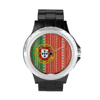 Modelo colorido de la bandera azteca fresca de Por Reloj