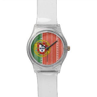 Modelo colorido de la bandera azteca fresca de Por Relojes