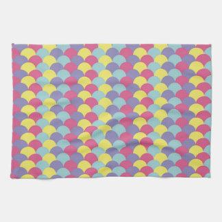 Modelo colorido de la escala toalla