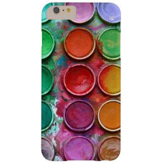 Modelo colorido de la paleta de la caja de color funda barely there iPhone 6 plus