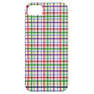 MODELO COLORIDO de la TELA ESCOCESA 5305_plaid-11- iPhone 5 Case-Mate Coberturas