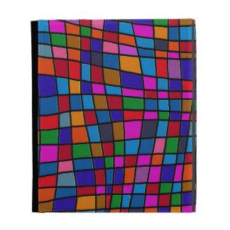 Modelo colorido de las tejas de mosaico de la